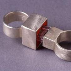 Обручальные кольца Cat 5 дизайнера Jana Brevick