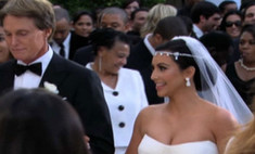 Свадьба Ким Кардашьян. Видео