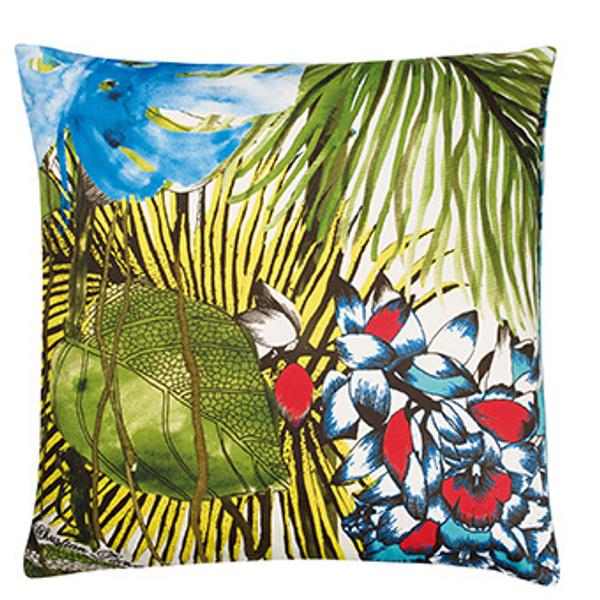 Подушка Jardin Exo'Chic Cushion, Christian Lacroix for Designers Guild.