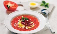 Испанский томатный суп Сальморехо