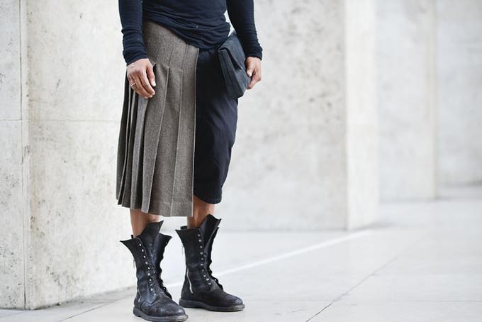 Зачем мужчины надевают юбки?