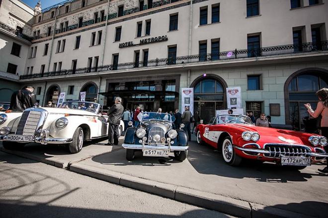 В Москве стартует фестиваль ретроавтомобилей
