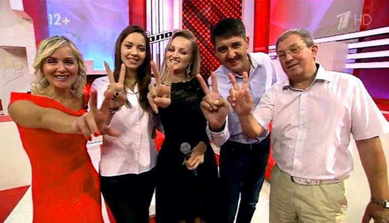 Шоу Голос 4 сезон Яна Башкирева Heaven Нокаут видео фото подробности