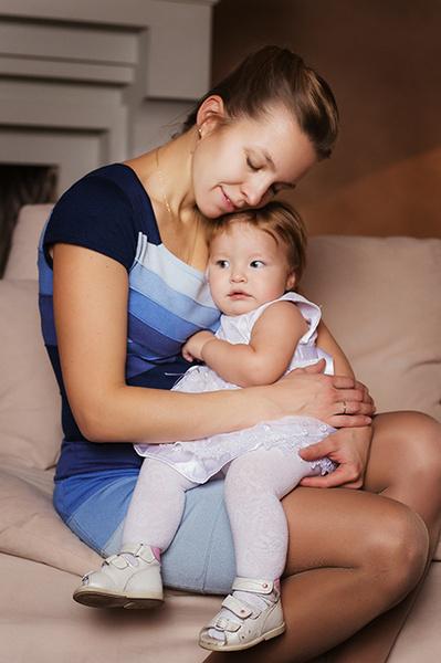 Варвара Багаева и дочери: фото