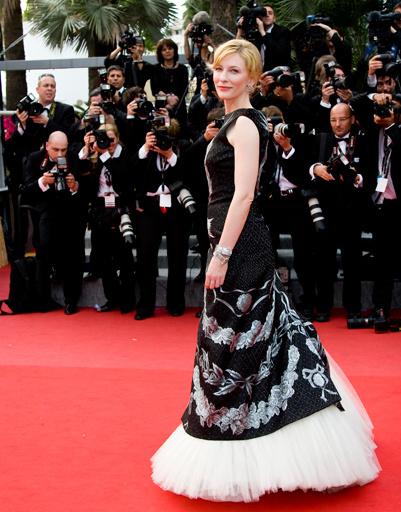 Кейт Бланшетт на Каннском кинофестивале-2010