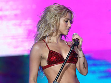 Шакира (Shakira) получила награду VMMA