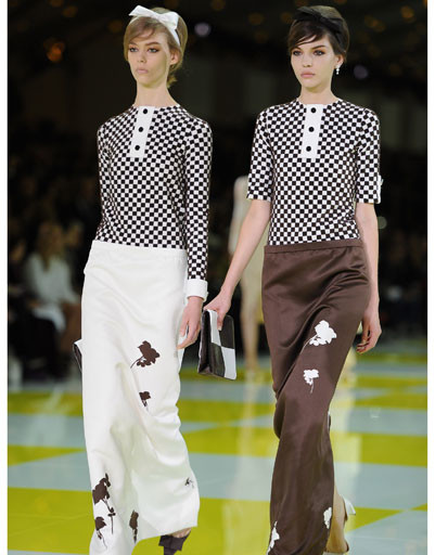 Неделя моды в Париже: Louis Vuitton, весна-лето 2013