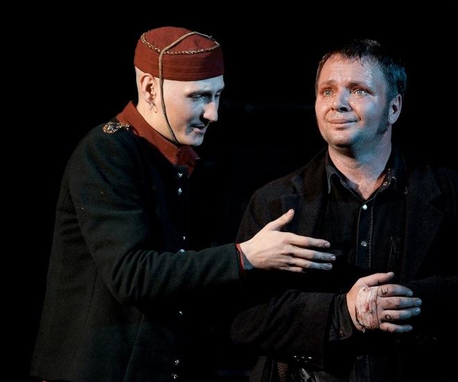 Спектакль «Безрукий из Спокэна», театр «У Моста»