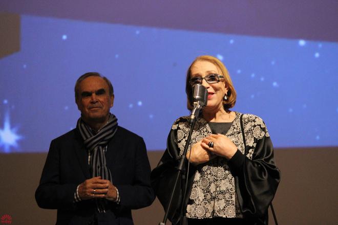 Инна Чурикова, Глеб Панфилов, Первый Уральский открытый фестиваль российского кино, фото