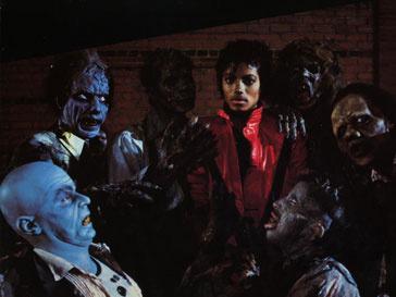 Кадр из клипа «Thriller»
