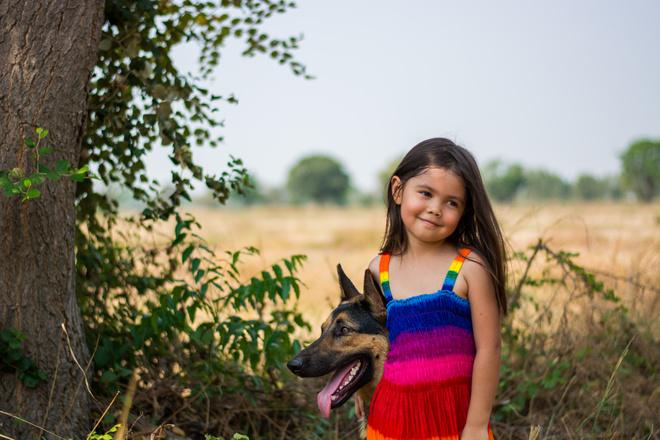 Лучшая собака для ребенка: породы
