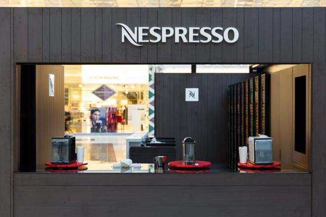 Nespresso открыл в Москве Pop-Up бутик