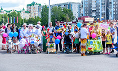 Парад колясок в Новокузнецке. Голосуй!