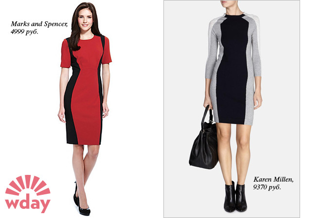 Платье Marks and Spencer, платье Karen Millen