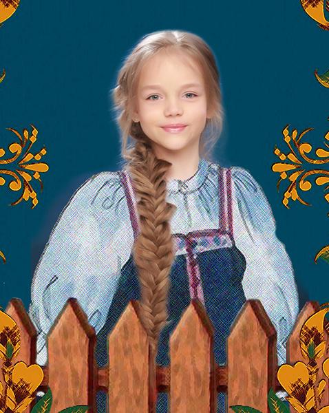 Арина Достовалова, «Уральская краса – русская коса», фото