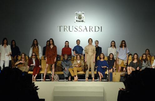 В Петербурге состоялась премьера женской коллекции Trussardi сезона весна-лето 2012