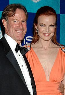 Марсия Кросс и ее муж Том