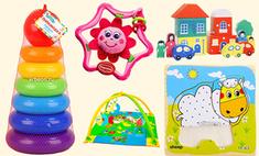 Развивающие игрушки, которые стоит купить малышу
