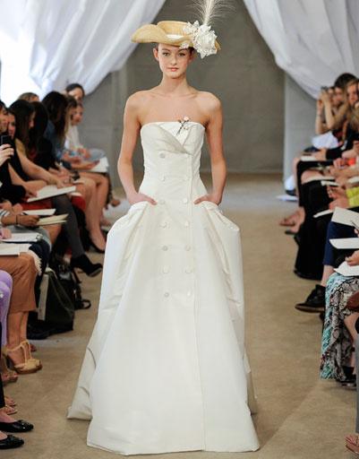 Свадебное платье Carolina Herrera 2013
