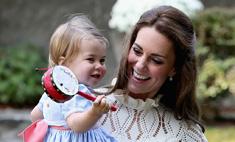 Принцесса Шарлотта произнесла первое слово на публике