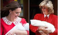 Миддлтон оделась на выписку из роддома как принцесса Диана