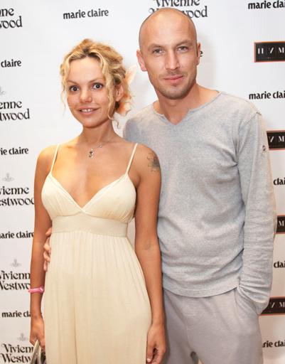 Дизайнер Маша Цигаль с мужем