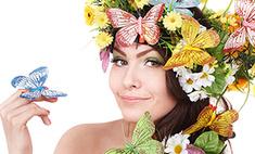 Бабочки и цветы: 13 необычных образов барнаульских девушек