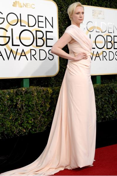 Гвендолин Кристи на Золотом глобусе-2017