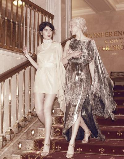 Выпускной: платье из коллекции a'la Russe, весна-лето 2012