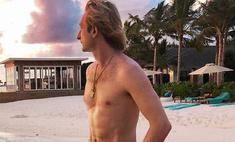 Секс-бомба: Евгений Плющенко устроил откровенные танцы на пляже