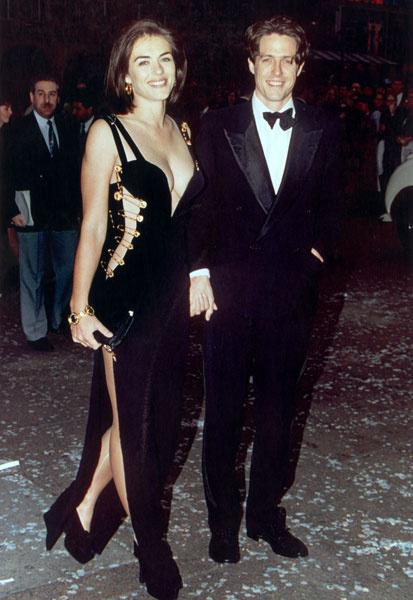 Лиз Херли и Хью Грант, 1994 год