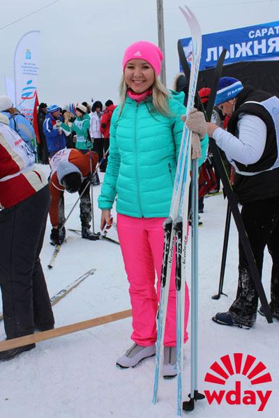 лыжня России 2015 Саратов