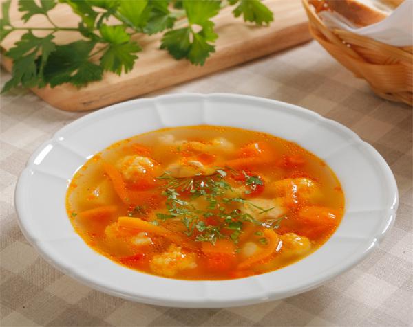 Овощной суп: рецепт