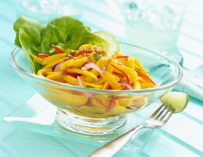 рецепты салатов с яблоком и перцем