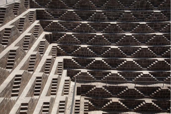 Чанд Баори, Индия