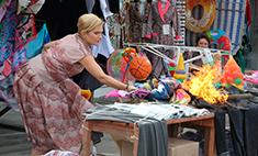Звезды кино устроили пожар на рынке Ростова