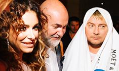 Лорак столкнула Баскова в бассейн на вечеринке Эмина