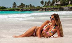 Пляжный стиль звезд: 13 купальников Юлии Ефимовой