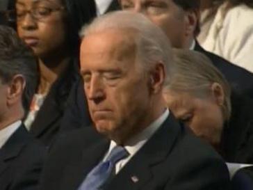 Джо Байден задремал, пока Обама рассказывал о бюджете страны