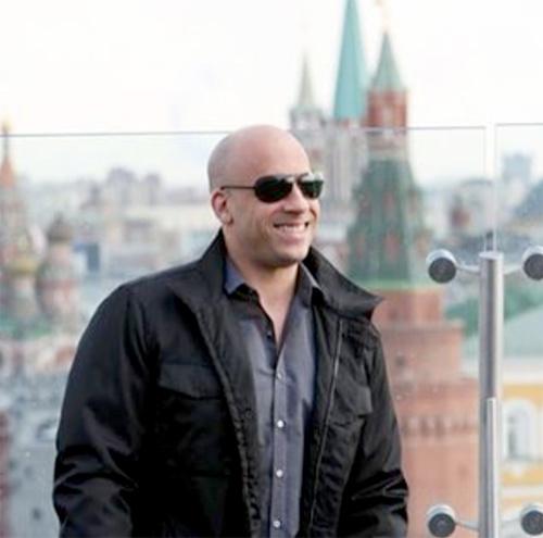 Вин Дизель приехал в Москву фото