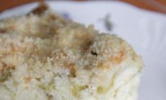 Сладкий пирог из ревеня: мастер-класс