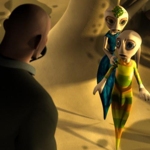 Кадр из фильма «Битва за планету Терра 3D»