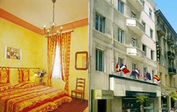 Отель сумел проникнуть в одно из самых желанных мест Лазурного побережья – набережную Променад де Англе.