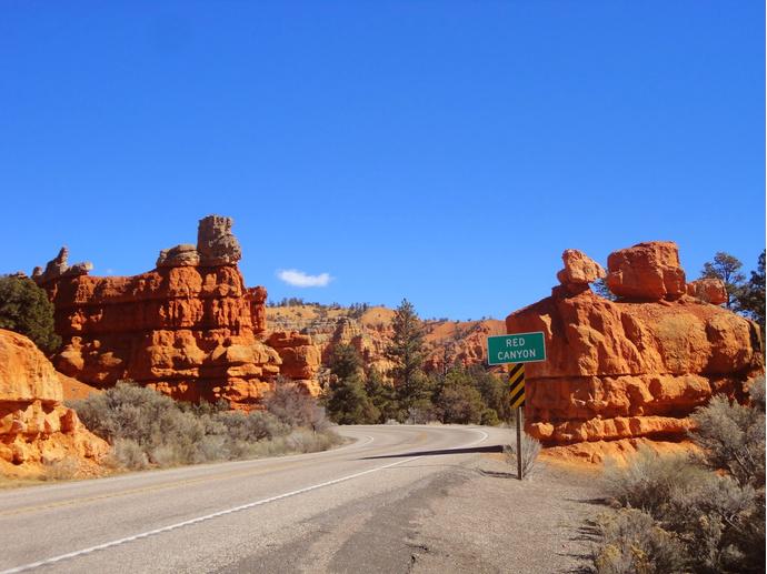 Дорога Красных Скал Аризона