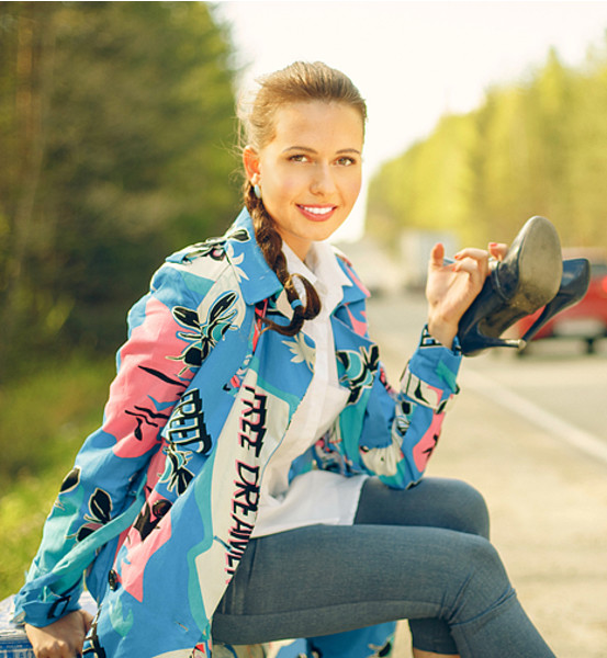 Ксения Грановская, телеведущая, фото