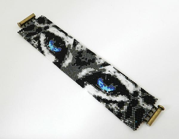 Плетение браслетов из бисера подробно