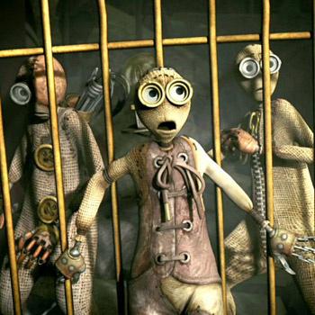 Сопродюсер Тимура Бекмамбетова Тим Бертона называет Вселенную «Девяти» «состроченным панком» (stitchpunk).