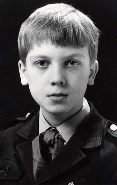 Сергей Светлаков, актер, в детстве, фото