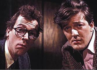 Хью Лори (Hugh Laurie) и Стивен Фрай (Stephen Fry)