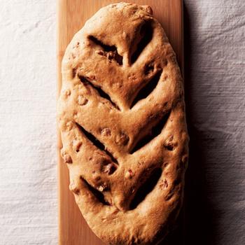 Хлеб с ветчиной